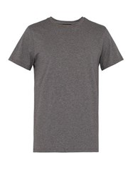 A.P.C. Jimmy Cotton Jersey T Shirt Grey
