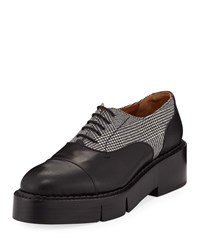 Robert Clergerie Charlit Platform Oxfords Black