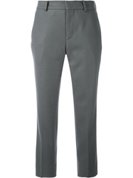 08Sircus Cropped Tailored Trousers Grey