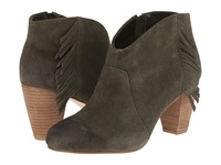 Tahari Camila Olive Burnished Calf Suede Women's Boots Brown