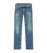 Nudie Jeans Pure Breeze Skinny Lin Male Blue