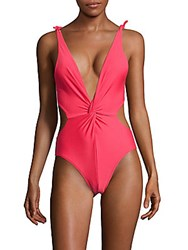 6 Shore Road Baracoa One Piece Swimsuit Hot Pink