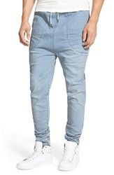 Men's I Love Ugly 'Zespy' Moto Denim Jogger Pants