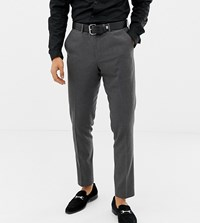 Heart And Dagger Skinny Smart Trousers Grey