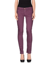Mih Jeans Casual Pants Purple
