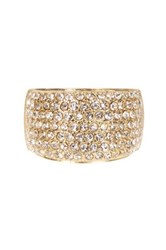 Ariella Collection Pave Crystal Band Ring
