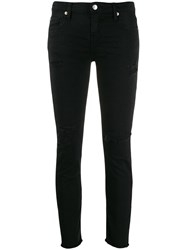 Iro Jarod Distressed Skinny Jeans Black
