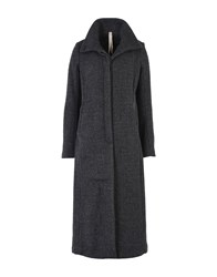 Poeme Bohemien Coats Steel Grey