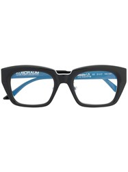 Kuboraum Square Frame Glasses Black