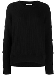 Dorothee Schumacher Pullover With Buttons Black