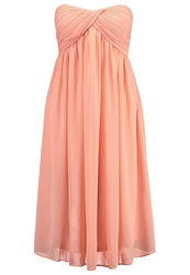 Glamorous Cocktail Dress Party Dress Peach Apricot