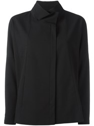 Demoo Parkchoonmoo Funnel Neck Jacket Black