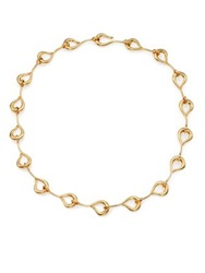 Giles And Brother Hook Collar Necklace Gold