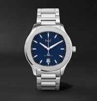 Piaget Polo S Automatic 42Mm Stainless Steel Watch Blue