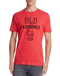 Kid Dangerous Old Fashioned Graphic Tee Red