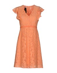 Toy G. Short Dresses Salmon Pink