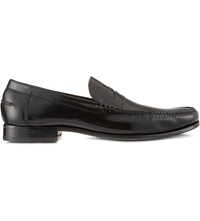 Barker Newington Penny Loafers Black
