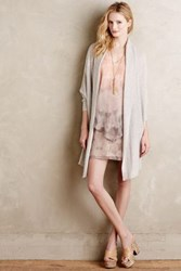 Anthropologie Cashmere Cocoon Cardigan Lavender