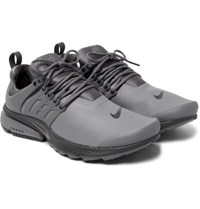 Nike Air Presto Low Utility Rubberised Jersey Sneakers Charcoal