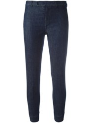 Max Mara 'S Cropped Jeans Blue