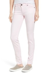 Kut From The Kloth Women's 'Diana' Skinny Five Pocket Pants Rose