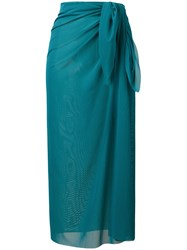 Fisico Slim Fit Midi Sarong Green