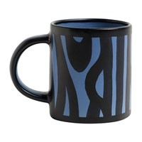 Hay Wood Mug Royal Blue