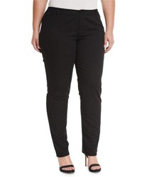 Lafayette 148 New York Five Pocket Skinny Jeans Black