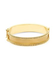 Temple St. Clair Yellow Gold Granulated Bracelet