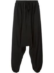 Unconditional Harem Trousers Black