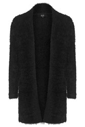 Save Me Black Fluffy Long Cardigan By Goldie