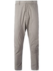 Poeme Bohemien Drop Crotch Trousers Grey