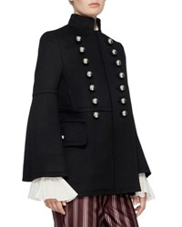 Burberry Military Wool Jacket Black