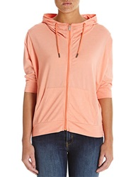 Bench Hooded Zip Up Jacket Coral