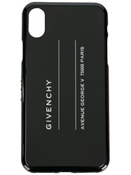 Givenchy Printed Iphone X Case Black