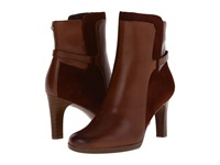 Naturalizer Allison Bridal Brown Leather Suede Women's Boots