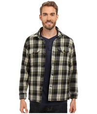 Filson Jacket Shirt Black Ivory Men's Clothing