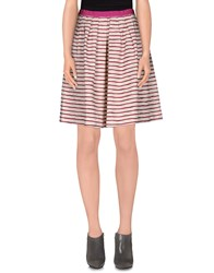 Roberto Collina Skirts Knee Length Skirts Women Fuchsia