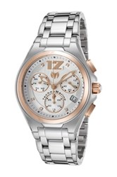 Technomarine Men's Manta Neo Classic Chrono Quartz Bracelet Watch Metallic