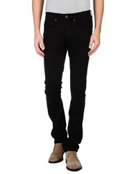 Superfine Denim Denim Trousers Men Black