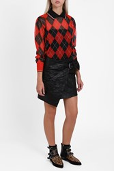 Isabel Marant Women S Crinkle Belted Skirt Boutique1 Black