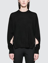 Alexander Wang Twisted Sleeve Sweater