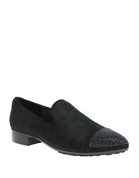 William Rast Orlando Cap Toe Loafers Black