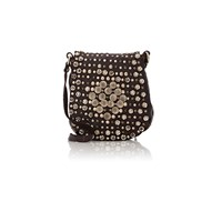Campomaggi Studded Crossbody Bag Brown