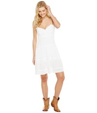 Scully Cantina Fenella Sun Burst Dress White Women's Dress