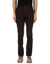 Barbour Casual Pants Dark Brown