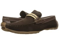 Steve Madden Zoomed Brown Men's Slip On Shoes