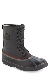 Sorel Men's '1964 Premium T' Boot Black Sail Red