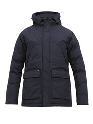 Nobis Heritage Hooded Down Filled Parka Navy