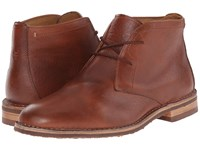 Trask Brady Saddle Tan American Bison Men's Shoes Brown